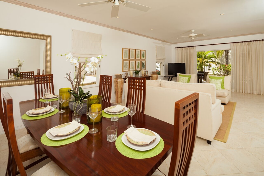 Dining off living area