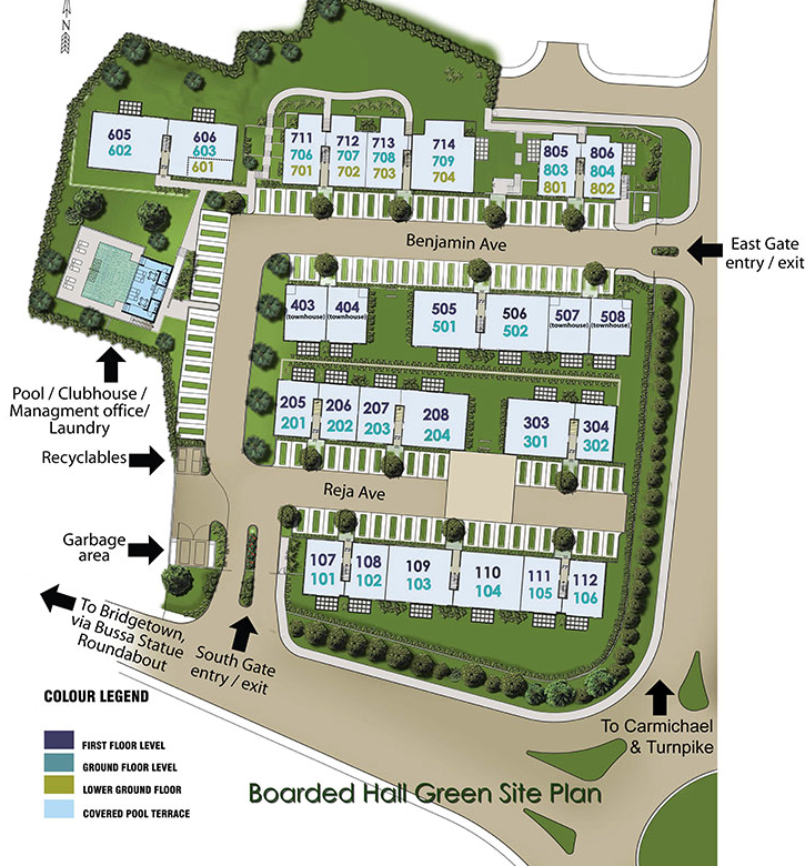 Site Plan - Boarded Hall Green2